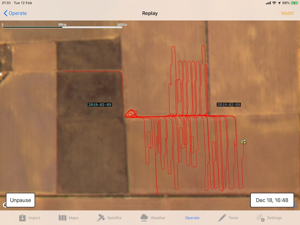 MyJohnDeere Machine Tracking